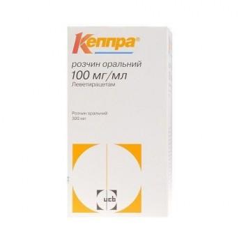 Леветирацетам NeuroPharma Сироп 100 mg/ml 300 мл.
