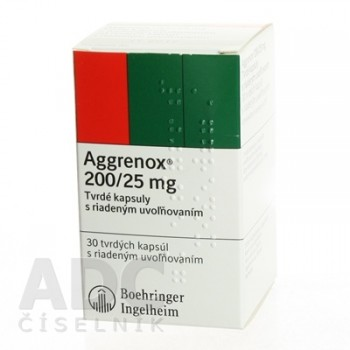 Агренокс 200мг 25мг, 30 капсул