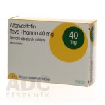 Аторвастатин (Teva Pharma) 40 мг (30 шт)