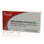 Аторвастатин (Actavis) 40 мг (30 шт)