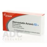 Аторвастатин (Actavis) 20 мг (30 шт)