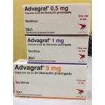 Адваграф 1 мг, 30 капсул