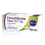 Фенофибрат (Fenofibrate) 267мг (30шт)