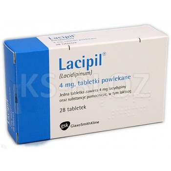 Лаципил (Lacipil) 4 мг (28 шт)