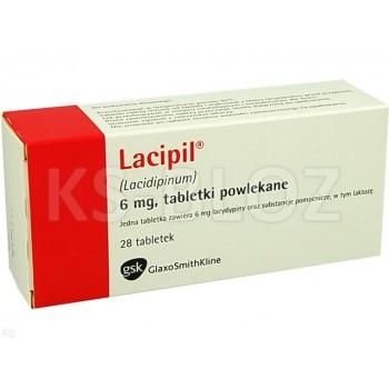 Лаципил (Lacipil) 6мг (28 шт)