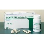 Норвир ( Ритонавир ) 100мг, 30 табл