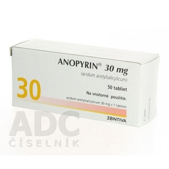 Анопирин 30 мг (50 шт)