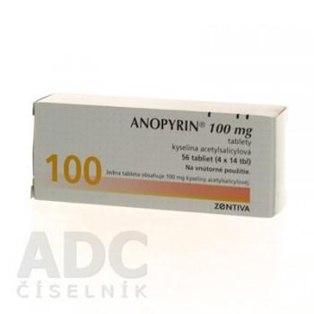 Анопирин 100 мг (56 шт)
