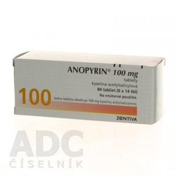 Анопирин 100 мг (84 шт)