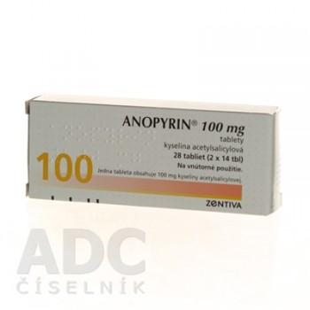 Анопирин 100 мг (28 шт)