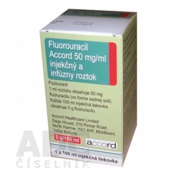 Фторурацил Аккорд 5000 мг фл. 100 мл № 1