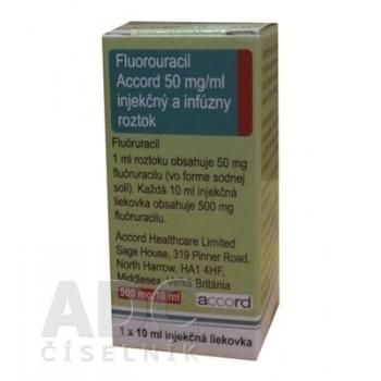 Фторурацил Аккорд 500 мг фл. 10 мл № 1