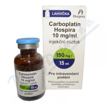 Карбоплатин Hospira 10 мг по 15 мл (150 мг), № 1