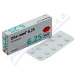 Дилатренд (карведилол) 6.25 мг (30 шт)