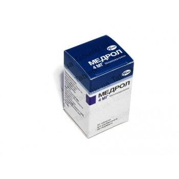 Медрол 4 мг, 30 таблеток
