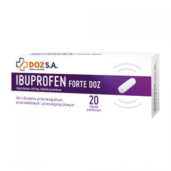 Ибупрофен Форте DOZ 400 мг (20 шт)