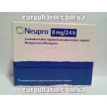 Ньюпро (Неупро) Пластырь  8 мг (7 шт)