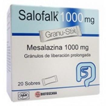 Салофальк суппозитории 1000 мг 30 шт
