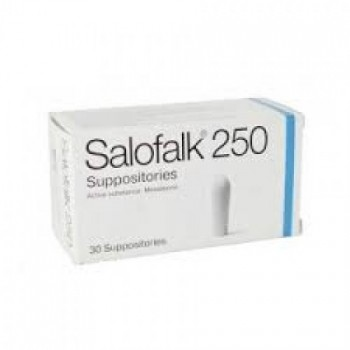 Салофальк суппозитории 250 мг 30 шт