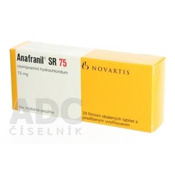 Анафранил SR 75 мг (40 шт)