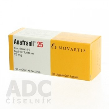 Анафранил 25 мг (90 шт)