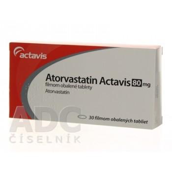 Аторвастатин (Actavis) 80 мг (30 шт)