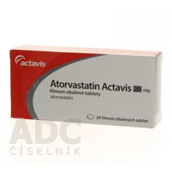 Аторвастатин (Actavis) 20 мг (28 шт)