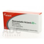 Аторвастатин (Actavis) 10 мг (30 шт)