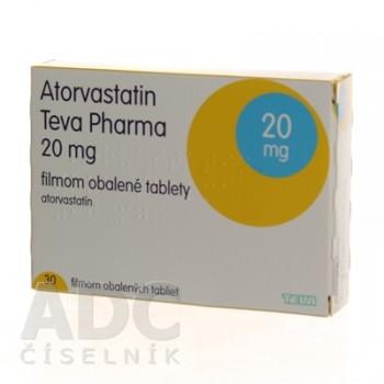 Аторвастатин (Teva Pharma) 20 мг (30 шт)
