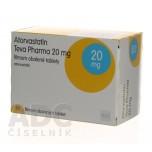 Аторвастатин (Teva Pharma) 20 мг (90 шт)