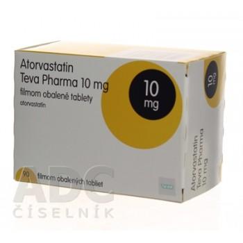 Аторвастатин (Teva Pharma) 10 мг (90 шт)