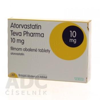 Аторвастатин (Teva Pharma) 10 мг (30 шт)
