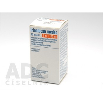 Иринотекан фл. 20 мг/мл. 5мл (100мг) №1