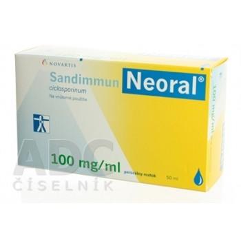 Сандиммун неорал 100мг (50 капс)