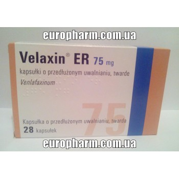 Велаксин 75мг, (28табл)