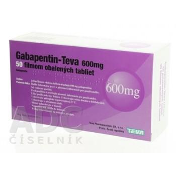 Габапентин Тева 600 мг (50 шт)