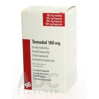 Темодал 180 мг (5 шт)