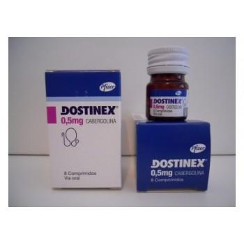 Достинекс 0,5 мг (8 шт)