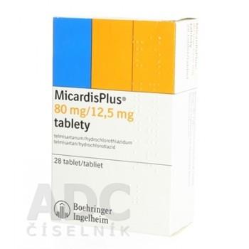 Микардис 80 мг/12,5 мг (28 шт)