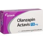 Оланзапин Актавис 15 мг (28 шт)