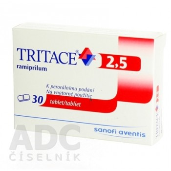 Тритаце 2,5 мг (30 шт)