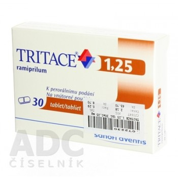 Тритаце 1,25 мг (30 шт)